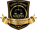 NAOPIA top ten injury attorney award